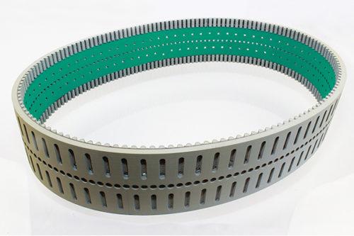Neoprene Based Timing Belt with a Gray Non-Marking Neoprene Cover