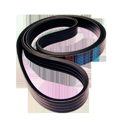 V-belts Banded & Linked V-belts Rubber PLURIBAND