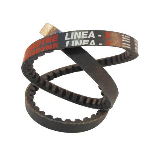 V-belts Rubber Raw Edge LINEA X