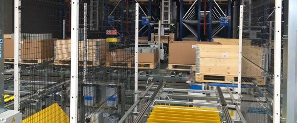 New Megadyne automatic warehouse